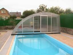 Раздвижной павильон для бассейна (4, 3х3, 2х1, 2м)