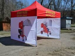 Раздвижной торговый шатер. Бесплатная доставка.