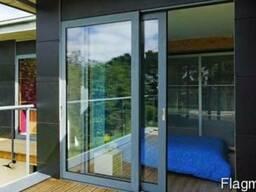 Раздвижные алюминиевые системы, балконы, лоджии, беседки