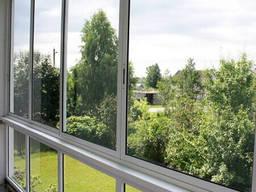 Раздвижные окна и двери из алюминиевого профиля Alutech