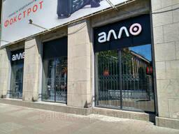 Раздвижные решетки Балкар-Днепр для магазинов электроники
