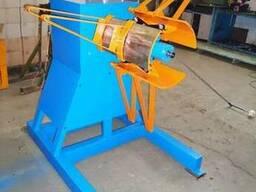 Разматыватель рулонного металла RRM-400 консольный реверсивн
