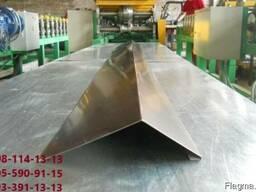 Размер торцевой планки, Планка ветровая размер
