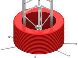 Размотчик для труб 120-500м бухт 12 кг