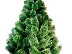 Разноцветные искусственные новогодние елки