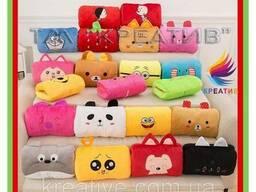 Разнообразные сувенирные подушки игрушки с Вашим логотипом (