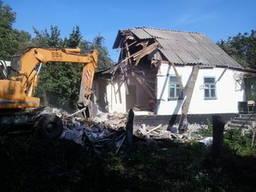 Разобрать дом в селе пирново, цена, снос