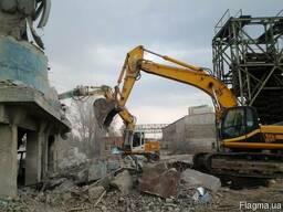 Разрушение демонтаж в Одессе.