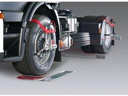 Лазерное схождение на грузовые авто.