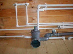 Разводка канализации, водопровода в Киеве, Буче, Ирпене