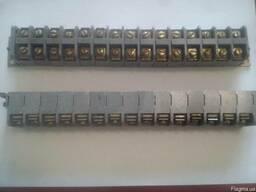 Разъём ЗН19-2531205Т2 660в -40в 25а ЖРВИ 15 клемный,