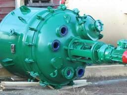 Реактор эмалированный 0, 63м3. 1м3. 1, 6м3. 2м3. 4м3. до 50м3