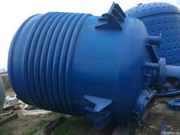 Реактор из нержавеющей стали 10м3. Производства Германии -б.