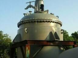 Реактор из нержавеющей стали 5 м3.