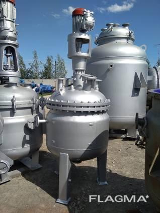 Реактор нержавеющий, реактор нержавейка все объемы и размеры