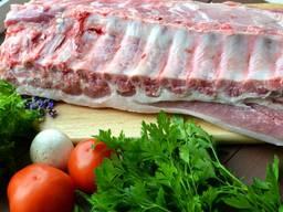 Ребро свиное BBQ не жирное охлаждённое оптом!