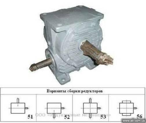 Редуктор Ч100 - 63