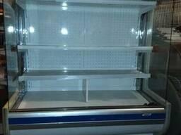 Регал бу; холодильная горка б\у; пристенная витрина Б/У