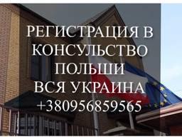 Регистрация на очередь консульство Польша