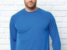 Реглан, футболка, эластичная, мужская, мужская, спецодежда