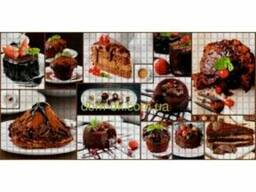 Регул ПВХ мозайка листовая панель десерт 167 д