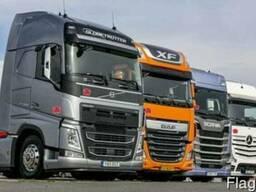 Регулярные грузовые автоперевозки по территории Украины