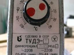 Регулятор температуры, терморегулятор ТУДЭ 1
