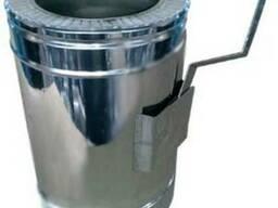 Регулятор тяги димохідний нержавійка з теплоізоляцією в Оцин