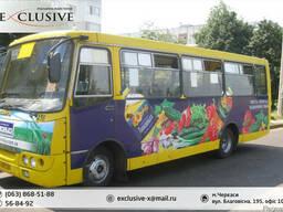 Реклама в маршрутках Черкасс - фото 3