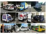 Реклама на транспорте, спецтехнике и тентах - фото 2