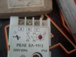 Реле контроля напряжения ел-11 220в