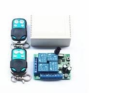 Реле модуль блок пульт дистанционного управления 220Vгаражными воротами на 4 реле и 2 пул