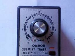 Реле omron subminy timer
