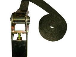 Ремень для крепления груза с трещеткой 5 м. (1 шт)