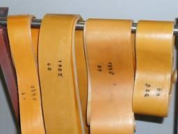 Плоские ремни приводные капроновые оранжевые Ту17-21-598-87