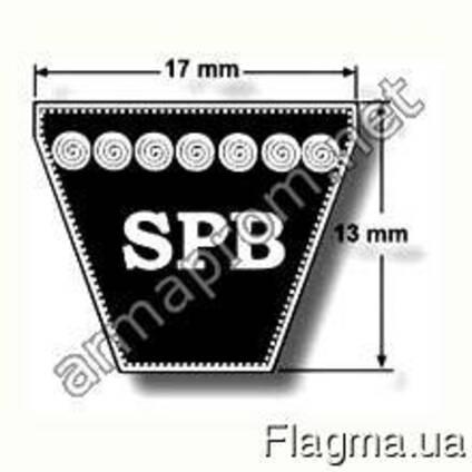 Ремни приводные узкопрофильные клиновые профиль SPB (УБ)
