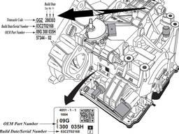 Ремонт АКПП Volkswagen VW 09G 09K 09M Львів