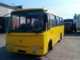 Покраска автобуса Богдан