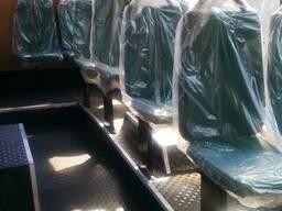 Восстановление и замена пассажирских сидений автобуса Богдан