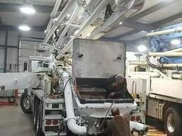 Ремонт бетононасосної та вантажної техніки