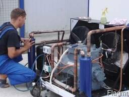 Сервисное обслуживание холодильных (фреоновых) агрегатов