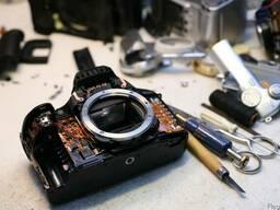Ремонт цифровых фотоаппаратов и видеокамер в Донецке