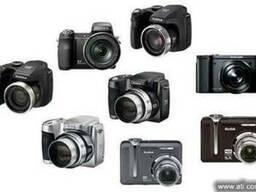 Ремонт цифровых фотоаппаратов, видеокамер Киев