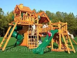 Ремонт детских площадок, игровых комплексов, аттракционов