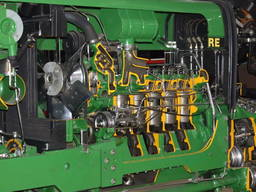 Ремонт дизельных двигателей на импортные трактора и комбайны