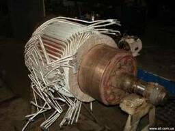 ремонт якоря электродвигателя