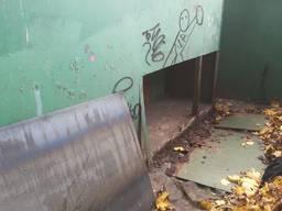 Ремонт гаража ворот установка замков сварочные работы.