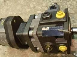 Ремонт гидромотора Bosch-Rexroth A6VM80