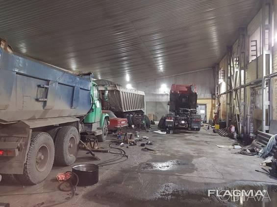 Ремонт грузовых авто и спецтехники