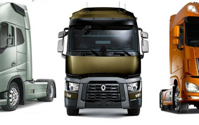 Ремонт грузовых автомобилей, прицепов, полуприцепов